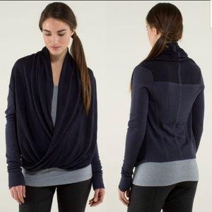FINAL Lululemon Criss Cross Front Sweater